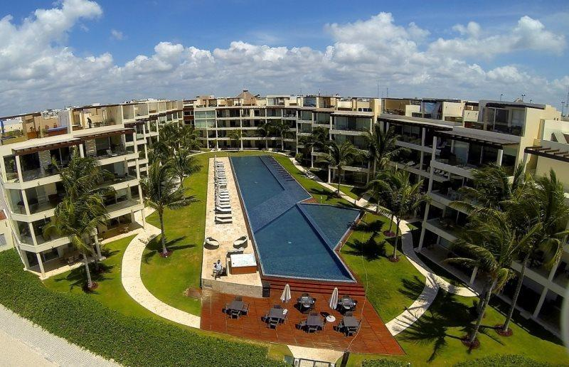 3rd Floor home overlooking the Ocean and Beaches at The Elements - Image 1 - Playa del Carmen - rentals