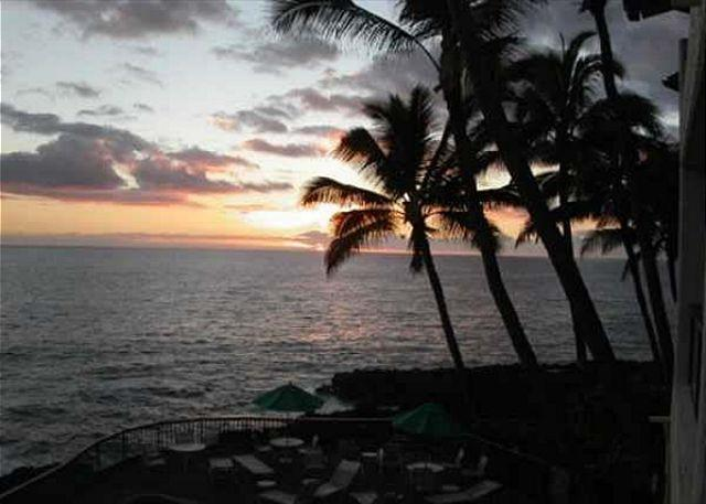Poipu Shores B202: Amazing oceanfront views, a/c, watch sunrise and sunset! - Image 1 - Poipu - rentals