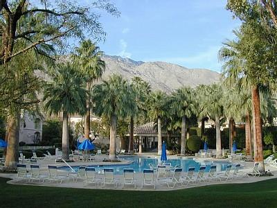 Main Pool Area (3 Pools, 3 Spas, 2 Tennis Courts, Fitness Center Available) - Palm Springs Deauville 514 - Palm Springs - rentals