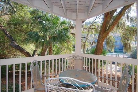 Balcony - 2376 Lighthouse Tennis - Hilton Head - rentals