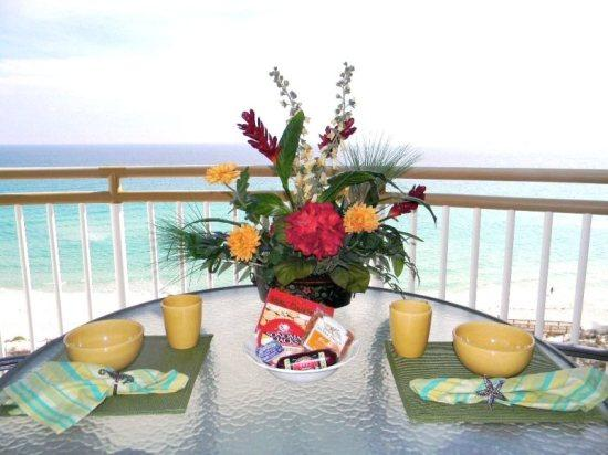 Beach Colony Resort 9B Balcony View - Beach Colony Resort 9B - Navarre Beach - rentals
