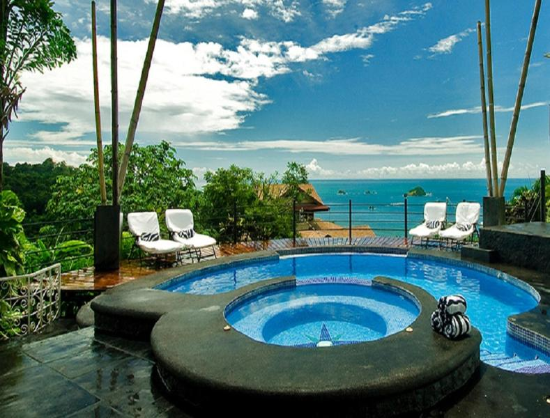 """Touch The Pacific ! - Dazzling Pacific Views: Trip Advisor """"Top  Rental"""" - Manuel Antonio National Park - rentals"""