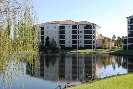 Building 4 from across the Pond - 2Bed Condo- No Pool Access- Disney 1Mile- From $84 - Orlando - rentals