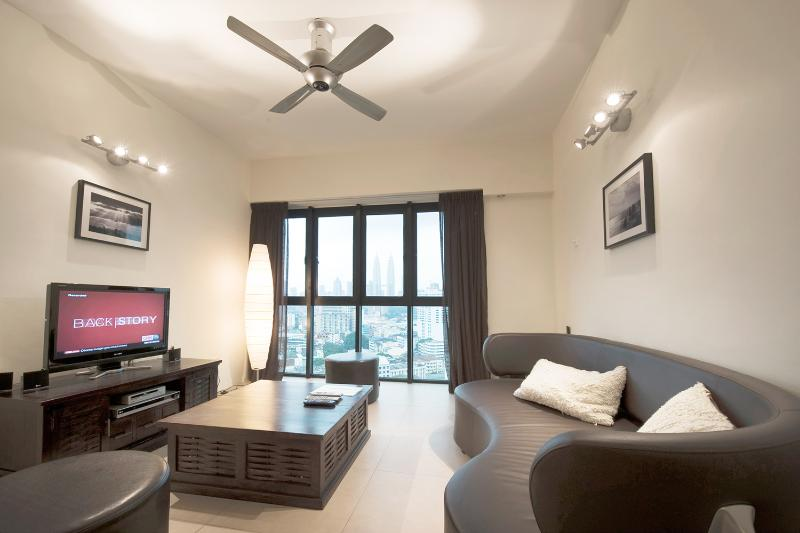 Living room - Luxury apartment with spectacular view - Kuala Lumpur - rentals