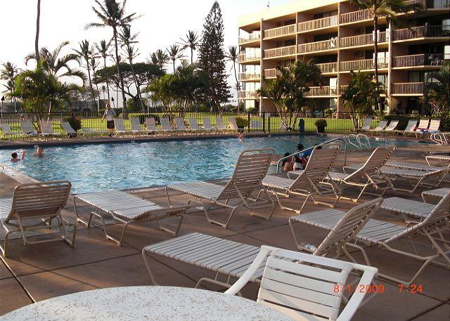 Maui Sunset Pool - Maui Sunset 207A 1 bedroom 2 bathrooms, full kitchen with washer & dryer. - Kihei - rentals