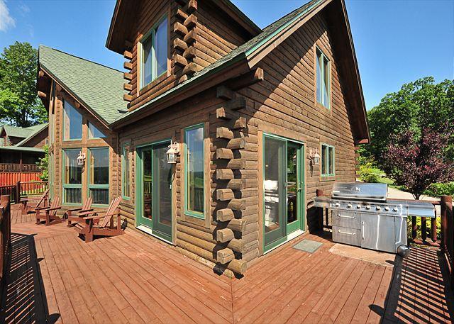 Deck - Harvey's Leap - Swanton - rentals