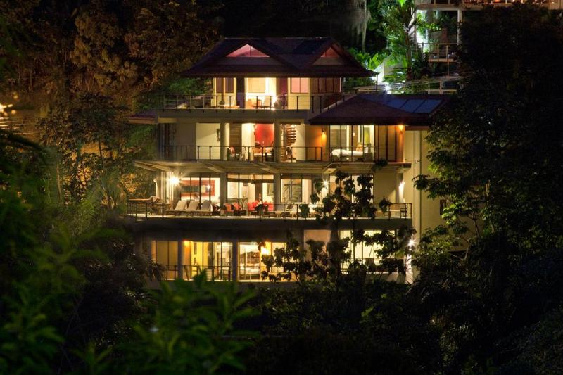 Evening Elegance at Villa Perezoso - 2017 Special! One of a Kind, Spectacular Top Rated Luxury Villa, w/ Butler/Chef - Manuel Antonio National Park - rentals