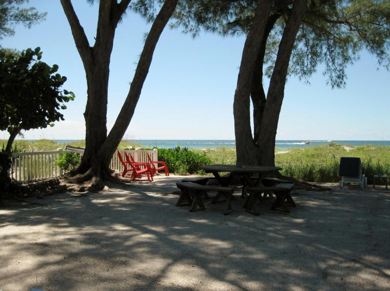 Sandy Shores - Your front yard! - Beautiful Gulffront Cottages Sandy Shores/PATIO - Indian Rocks Beach - rentals