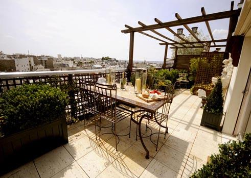Large terrace - 57-apartment - Paris - rentals