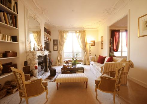 Centrally Located 2 BR in Paris Near Parc Monceau - Image 1 - Paris - rentals