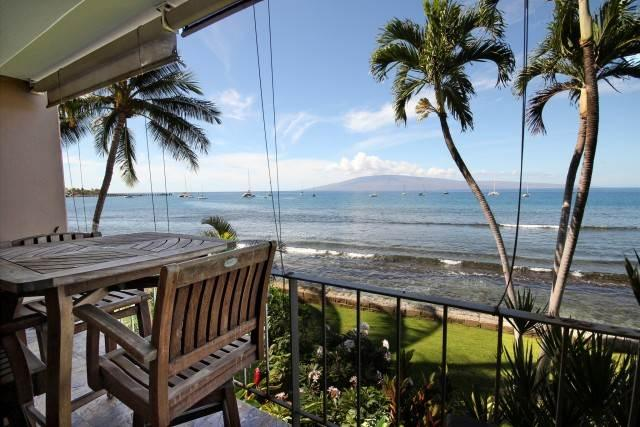 Lahaina Roads #201 Ocean Front - Image 1 - Lahaina - rentals