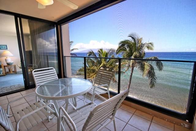 Mahana Resort #606 Deluxe Ocean Front - Image 1 - Lahaina - rentals