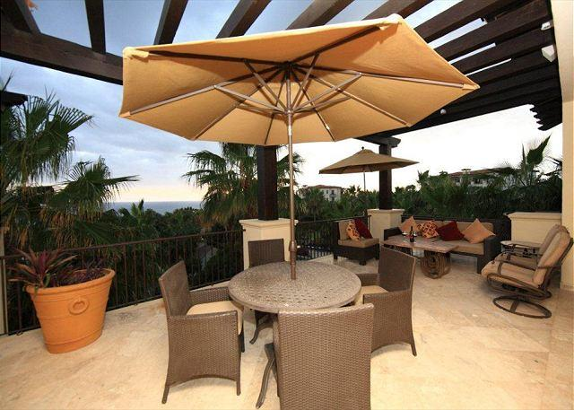 Main Terrace with BBQ - Villa Las Estrellas Luxury Penthouse Ocean View Pool/Jacuzzi Esperanza - Cabo San Lucas - rentals