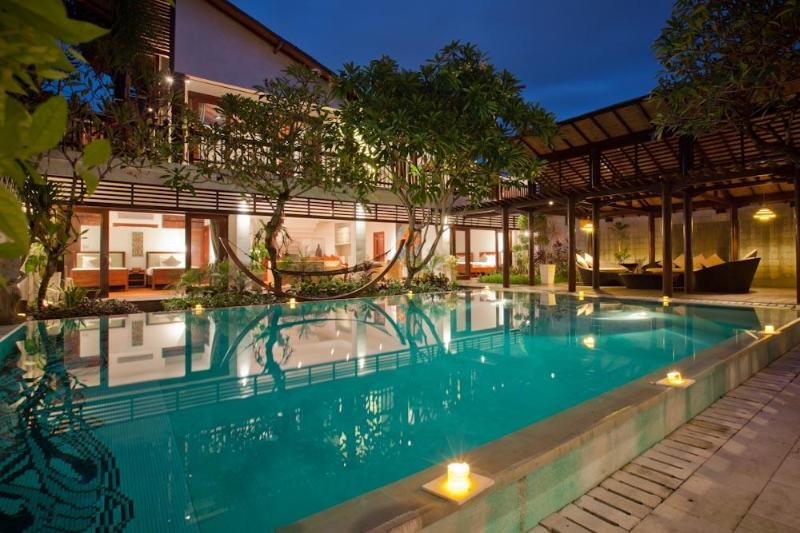 Front Building image - Luxurious 3BR Villa Casis 200m to Sanur Beach - Sanur - rentals