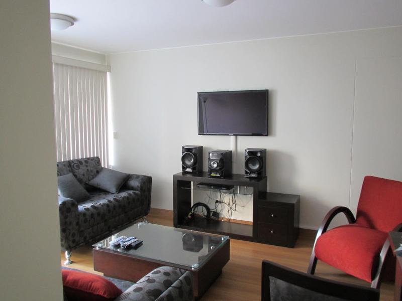 Living Room Torres Del Mar Condo (Porta) - New! Stunning 4 Bedroom Condo Miraflores Lima Peru - Lima - rentals