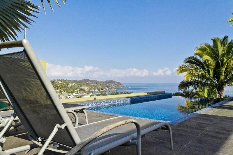 Private Saltwater Pool with 360' views - Modern architecture, combines 360' views, private pool, privacy, superfast WIFI! - Sayulita - rentals