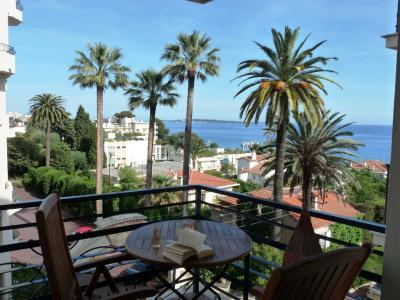 Apartment des Pins- Sleek 1 Bedroom Cannes Apartment with a Terrace - Image 1 - Cannes - rentals