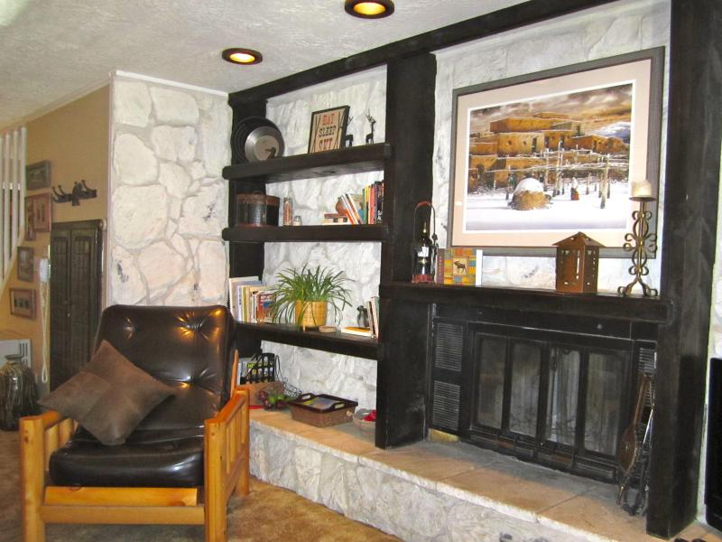 Warm up and snuggle next to the Wood burning fireplace. Wood provided. - Ski-In/Ski-Out!! Unbeatable Location-2 balconies! - Red River - rentals