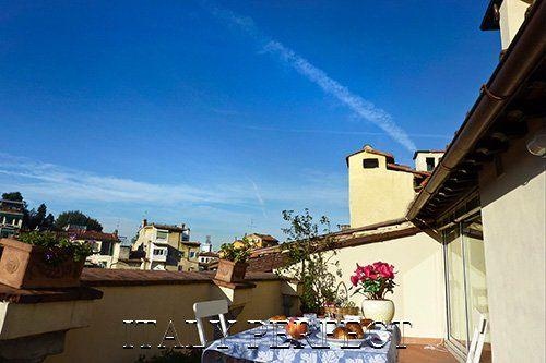 Perfect Terraces-Fabulous Views-Charm-Romantic-Ponte Vecchio-Torella Apartment - Image 1 - Florence - rentals