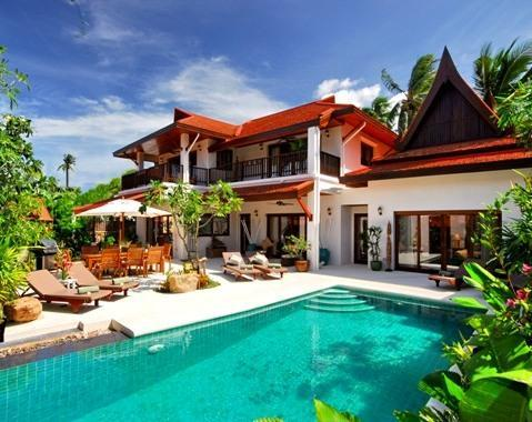 Baan Lotus Luxury 4 bedroom villa - Baan Lotus 4 Bedroomed Luxury Beach Villa - Lamai Beach - rentals