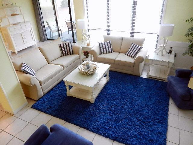 Large Living Room - 2 King Bedrooms, Wi-Fi, HDTV, Deck, Patio, Gas BBQ - Sandestin - rentals