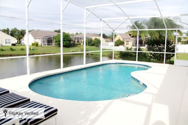 Private heated swimming pool - DISNEY ORLANDO LAKE 4 BED LUXURY POOL VILLA - Kissimmee - rentals