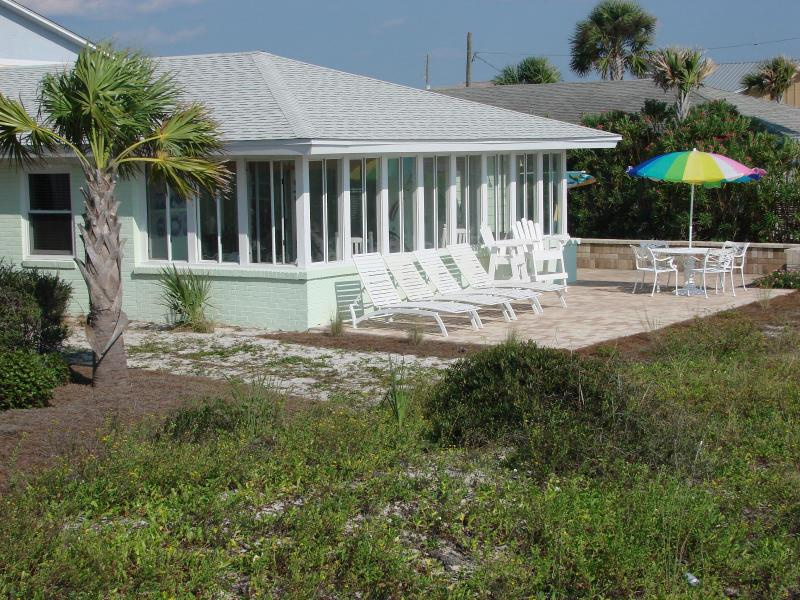 Beach side of The Beach House - Fall & winter rates $1250/week. - Mexico Beach - rentals