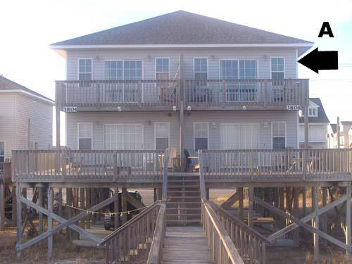 Exterior - Bookhardt North 3806 Island Drive~ SAVE UP TO $85! - North Topsail Beach - rentals