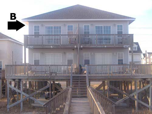 Exterior - Bookhardt South 3804 Island Dr. ~ SAVE UP TO $85! - North Topsail Beach - rentals