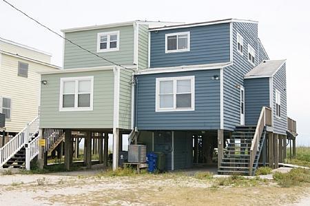 Carolina Dreaming Front House - Carolina Dreaming, 2290-2 New River Inlet Rd, North Topsail Beach, NC - North Topsail Beach - rentals