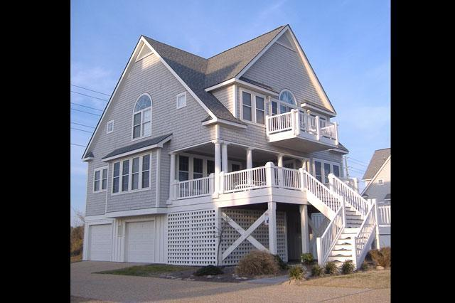 Exterior - Sea For Yourself, 4176 Island Dr, North Topsail Beach, NC, Ocean Front - North Topsail Beach - rentals