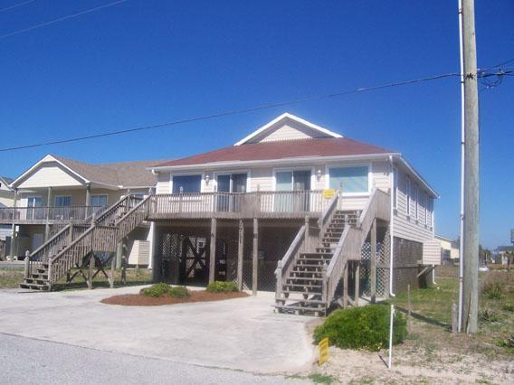 Exterior - Almost Oceanfront, Second Row - Surf City - rentals