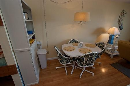 Dining Area - Surf Condos 113, 918 N New River Dr, Surf City, NC, Ocean Front - Surf City - rentals