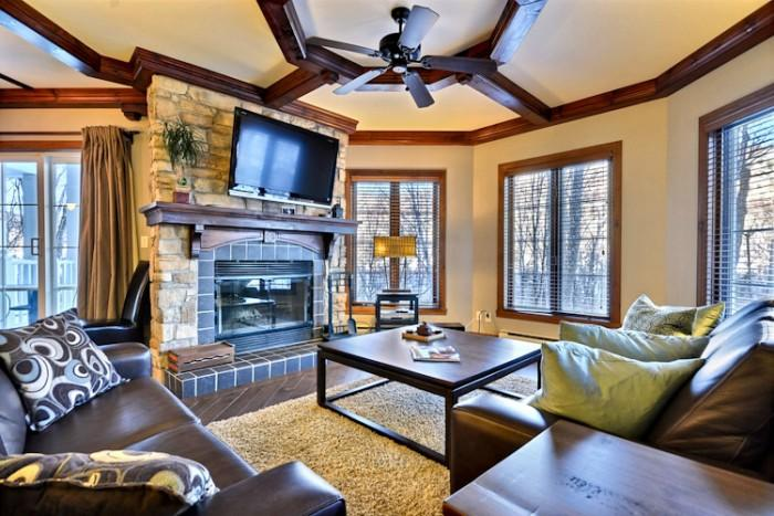 Comfortable House with 2 BR, 2 BA in Mont Tremblant (Les Manoirs | 108-1) - Image 1 - Mont Tremblant - rentals