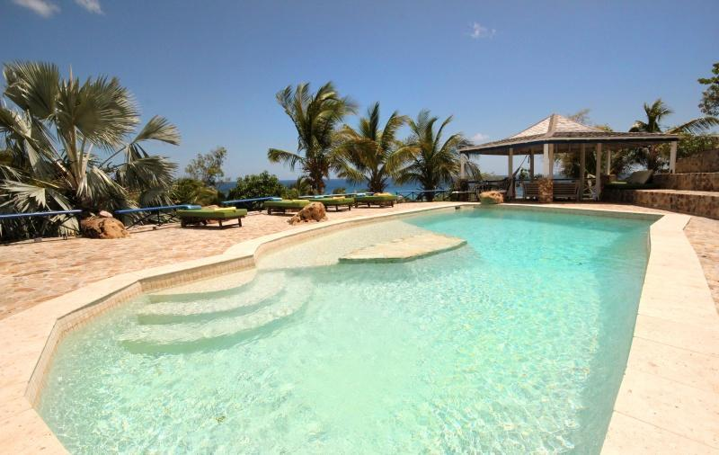 40' x 20' with shallow wading space - The Carib House Turtle Bay Falmouth Antigua - Falmouth - rentals