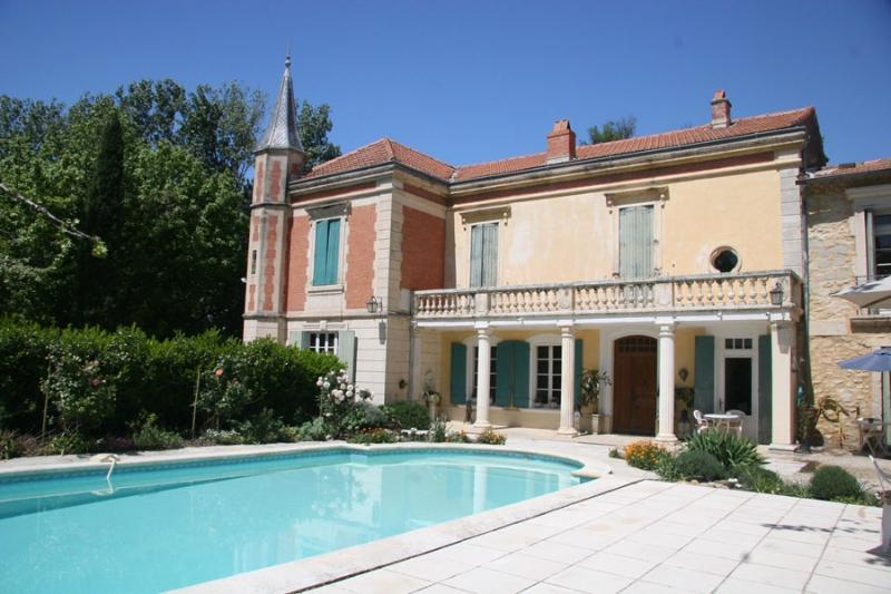 Tarascon Manor House Holiday Villa rental in Tarascon - Provence - Rent this - Image 1 - Tarascon - rentals