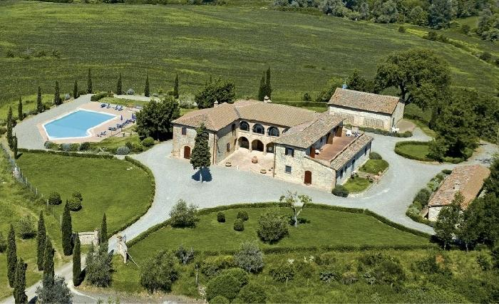Villa la Contessa Upscale villa rental near Siena, Tuscany, large Tuscan villa for short term rental, Italian villa with pool - Image 1 - Siena - rentals