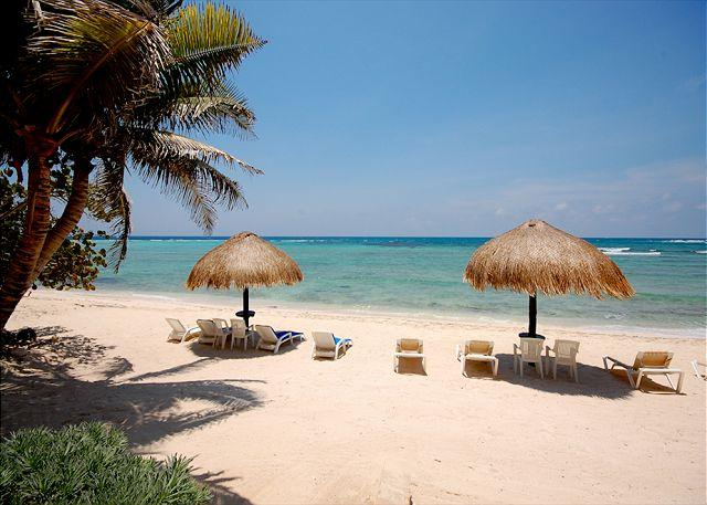 Beachfront at La Mirage - La Mirage, Unit #1 - Akumal - rentals