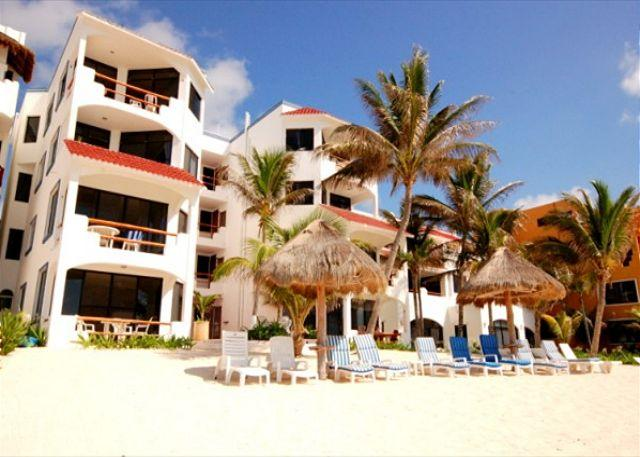 Luna Azul Condos Half Moon Bay Akumal - Beautiful Beachfront Condo in Akumal! Everything you Need! - Akumal - rentals