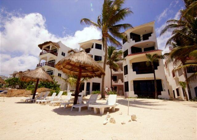 Luna Azul beachfront condos, Half Moon Bay, Akumal, Mexico - Incredible Ocean View, Recently Updated! Luna Azul 6 - Akumal - rentals