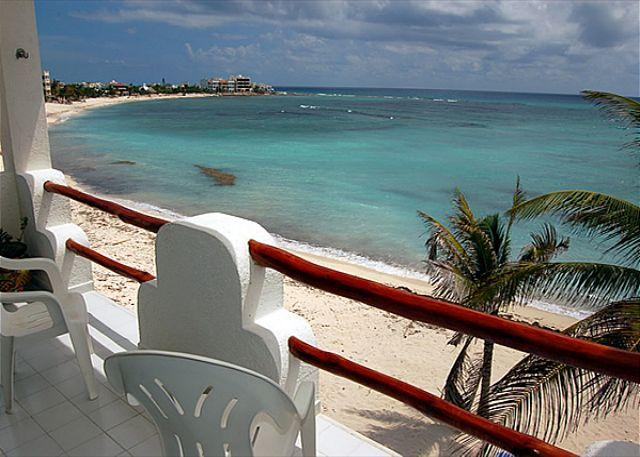 View from the Terrace - Playa Blanca, Unit #7 - Akumal - rentals