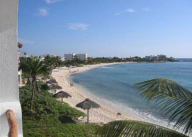 View of Half Moon Bay - Playa Blanca, Unit #8 - Akumal - rentals