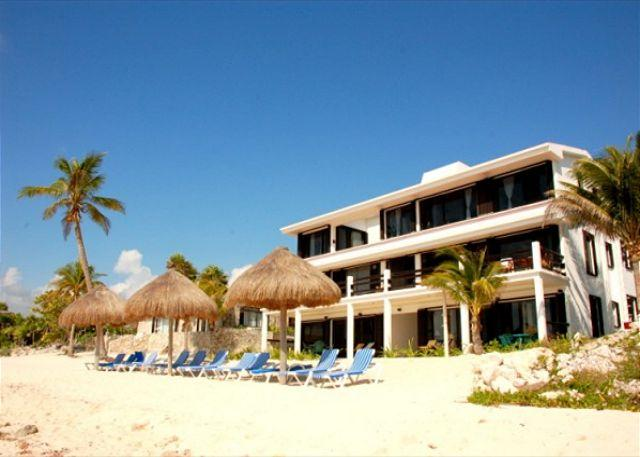 Beachside Exterior, Yool Caanal - Penthouse Unit on the third floor with amazing views! - Akumal - rentals
