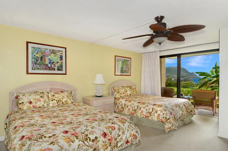 Hanalei Bay Resort 7105 ocean view studio - Unobstructed Hanalei Bay Ocean View studio - Princeville - rentals