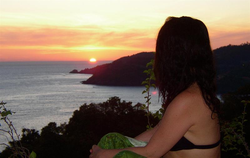The view from the living room. No kidding! - Sueño del Mar. Dream of the Sea.  Artful. View. - Zihuatanejo - rentals