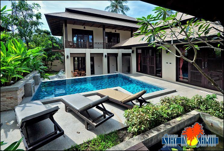 villa and private pool - beautiful private villa in 5* 'Kirikayan' resort - Mae Nam - rentals