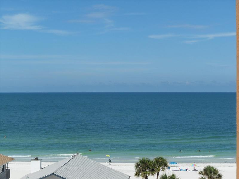 View from the balcony - Best price on the beach for this waterfront condo - Redington Shores - rentals