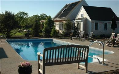 PRIVATE THREE-ACRE COMPOUND WITH GUEST HOUSE, POOL AND HOT TUBS - EDG KHAN-34 - Image 1 - Edgartown - rentals