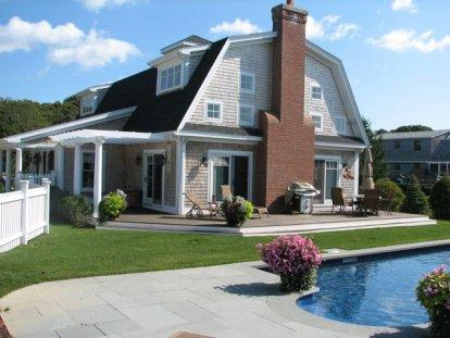 STUNNING KATAMA GAMBREL WITH POOL AND CABANA - KAT SCHA-242 - Image 1 - Edgartown - rentals