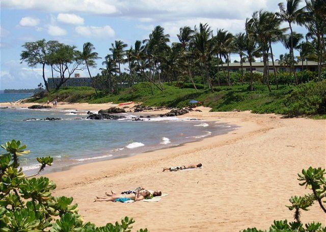 Mokapu Beach and Ulua Beaches near the condo - Grand Champions #48 is a 2bd 2ba Ocean View condo that Sleeps 6 Great Rates! - Wailea - rentals